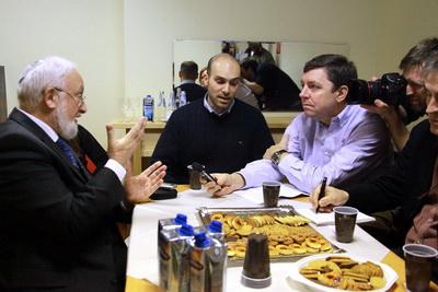 308 - Интервью еврейской газете в Германии