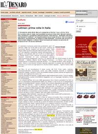 """Статья в итальянской газете """"Denaro"""""""