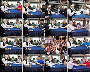 Конгресс 2010. Подписание книг