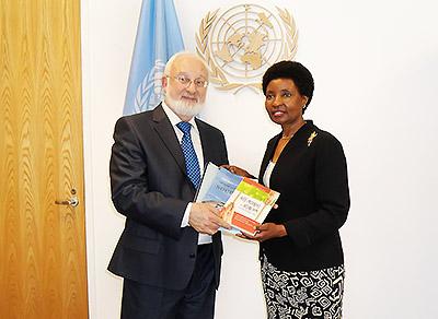 Встреча с первым заместителем Генерального секретаря ООН, доктором Аша-Роуз Мигиро